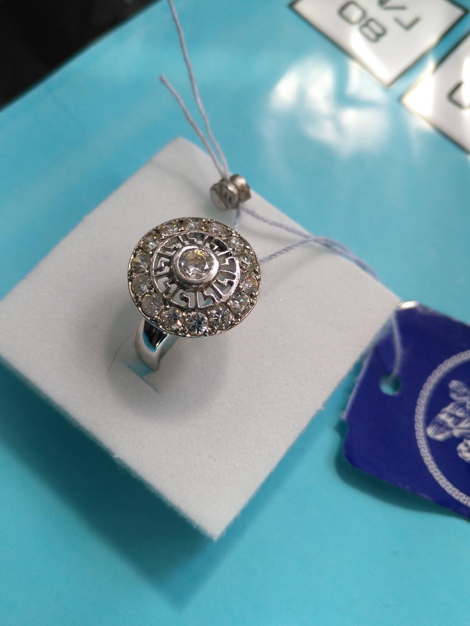 Серебряное кольцо Адонис 16,5 размер