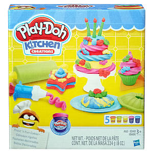 Набор Play-Doh Kitchen Creations Frost´n Fun Cakes