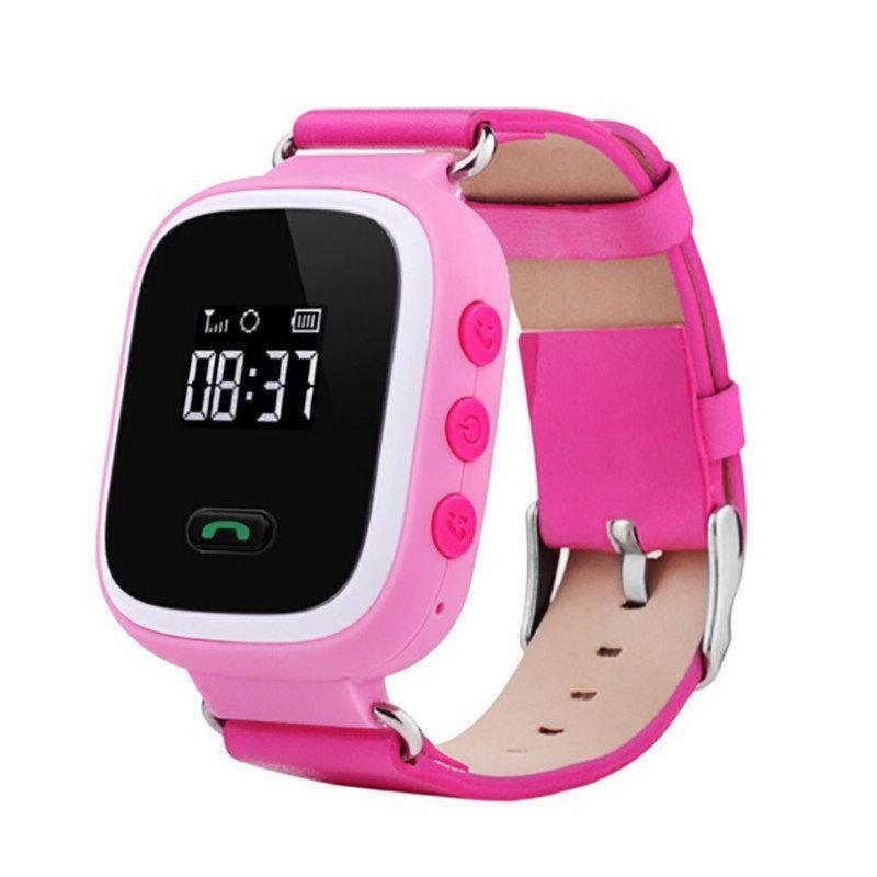Детские умные часы с GPS Smart Baby Watch Q60 розовые