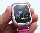Детские умные часы с GPS Smart Baby Watch Q60 розовые, фото 2