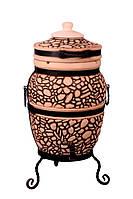 """Тандыр печь дизайн """"Булыжник"""" 50 литров, фото 1"""