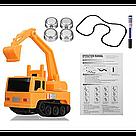 Индуктивный игрушечный автомобиль Inductive Truck / Экскаватор / индуктивная машинка трек, фото 3