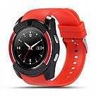 Смарт часы Smart Watch V8. Черный. Black, фото 5