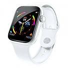 Умные часы Smart Watch W4 сенсорные белые (GS00W4W), фото 2