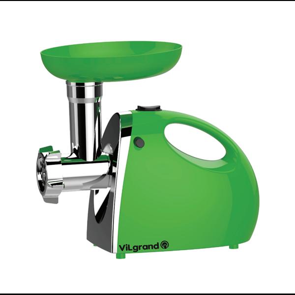 Электромясорубка соковыжималка ViLgrand V206-HMG 2000 Вт с реверсом Green (GS002VDG)