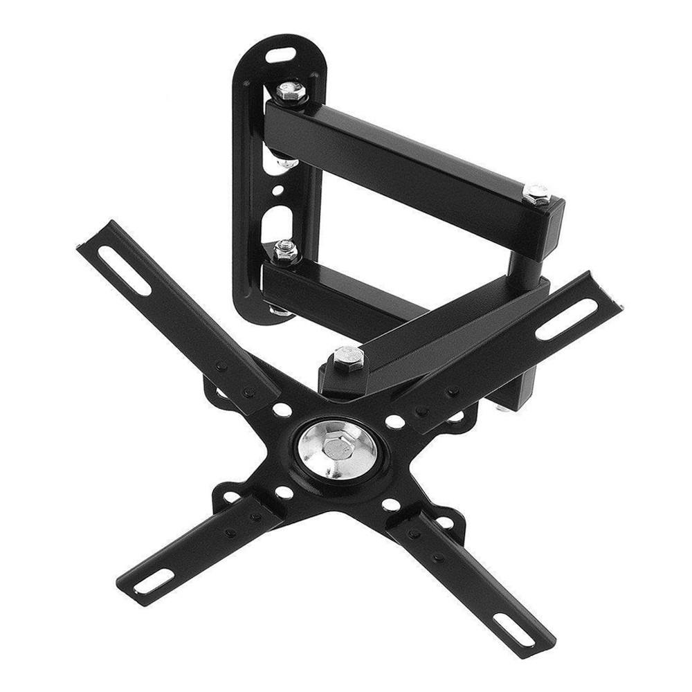 Кронштейн поворотный для телевизора TV CP102 от 15 до 40 дюймов черный