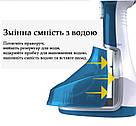 Ручной электрический отпариватель для одежды DSP KD-1074 с насадкой 280 мл 1400 В Cиний, фото 5