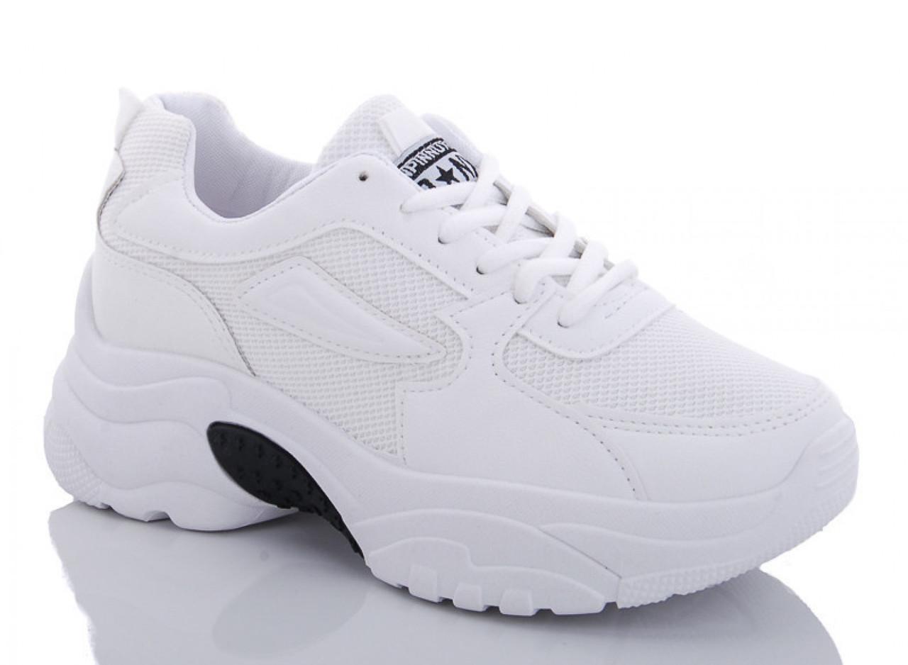 Кроссовки женские белые JPNX 36 р. 22,5 см (1172088498)