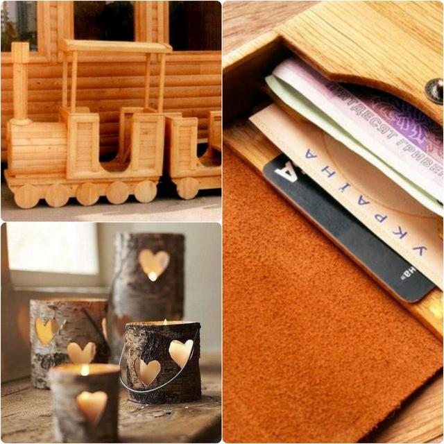 Эко-товары. Товары ручной работы из дерева