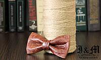 Кожаная галстук-бабочка I&M (010835)