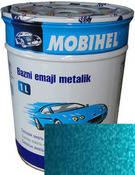 """460L Автоэмаль базовая """"металлик"""" Helios Mobihel """"Аквамарин Люкс"""", 1л"""