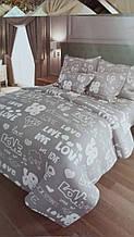 Семейный набор постельного белья - простынь 220*200см, 2 пододеяльника по 220*150см, 2 наволочки по 70*70см