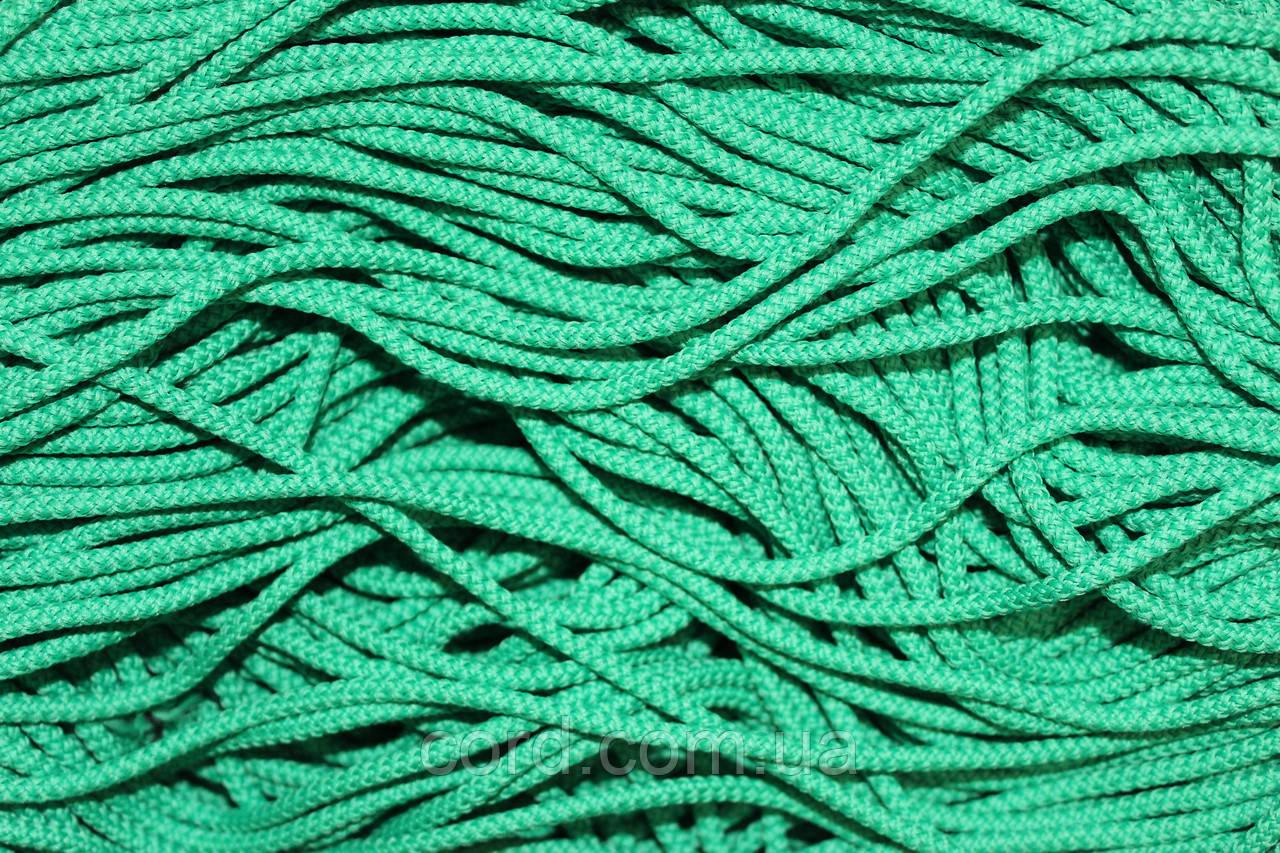 Шнур 4мм круглый 200м  зеленый