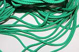 Шнур 4мм круглый 200м  зеленый, фото 2