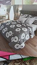 Семейный комплект постельного - простынь 220*200см, 2 пододеяльника по 220*150см, 2 наволочки по 70*70см