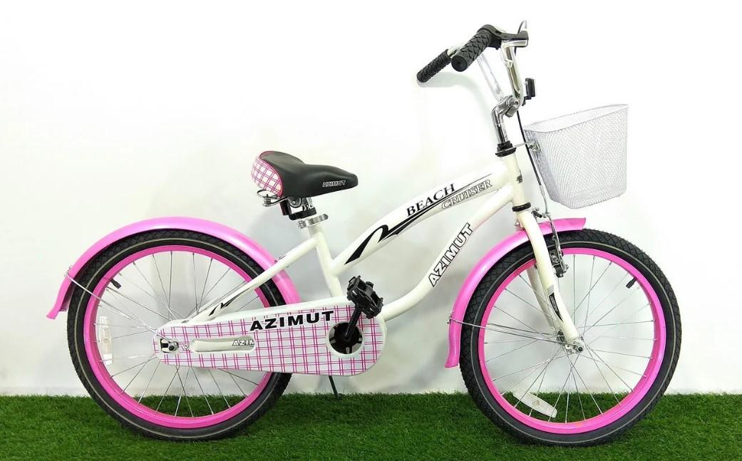 """Детский велосипед  """"Azimut Beach"""" 20"""" розовый"""