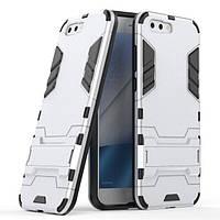 Чехол Hybrid case для Asus Zenfone 4 / ZE554KL (1A036WW) бампер с подставкой светло-серый