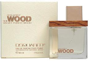 Женский парфюм Dsquared2 She Wood Velvet Forest Wood (30 мл)