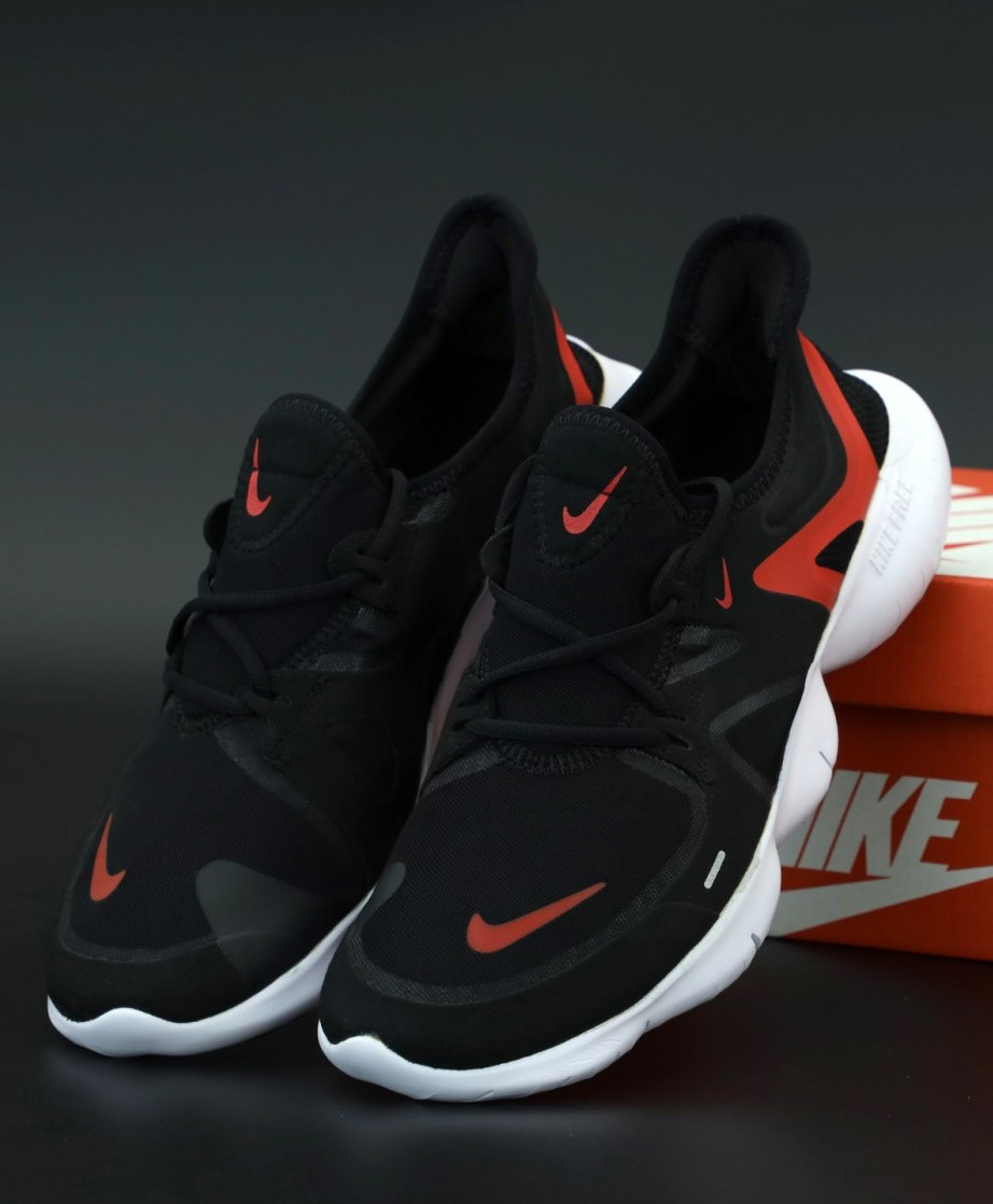 Мужские Кроссовки Nike Free Run 5.0 RN Найк Фри Ран Черные