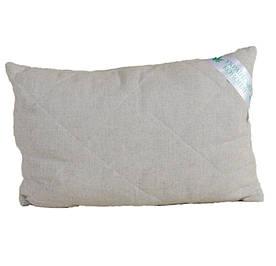 Подушка гипоаллергенная с конопляным наполнителем KonopliUA Бежевый (1-037)