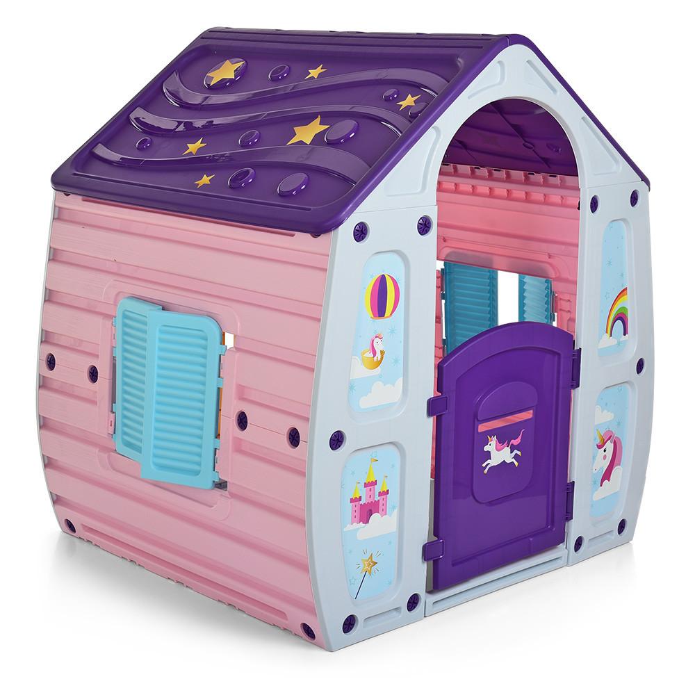 Детский игровой домик Starplast Unicorn Magical House 23-561 Сказочный домик