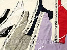 Стринги женские Calvin Klein Carousel  3 шт  Реплика, фото 3