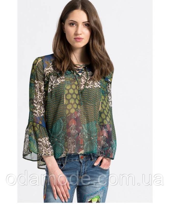 Шифонова Блуза жіноча з принтом Desigual(Іспанія)