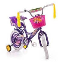"""Дитячий велосипед """"Girls"""" 16"""" рожевий, фото 3"""