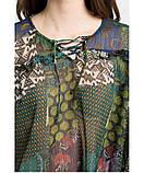 Шифонова Блуза жіноча з принтом Desigual(Іспанія), фото 3