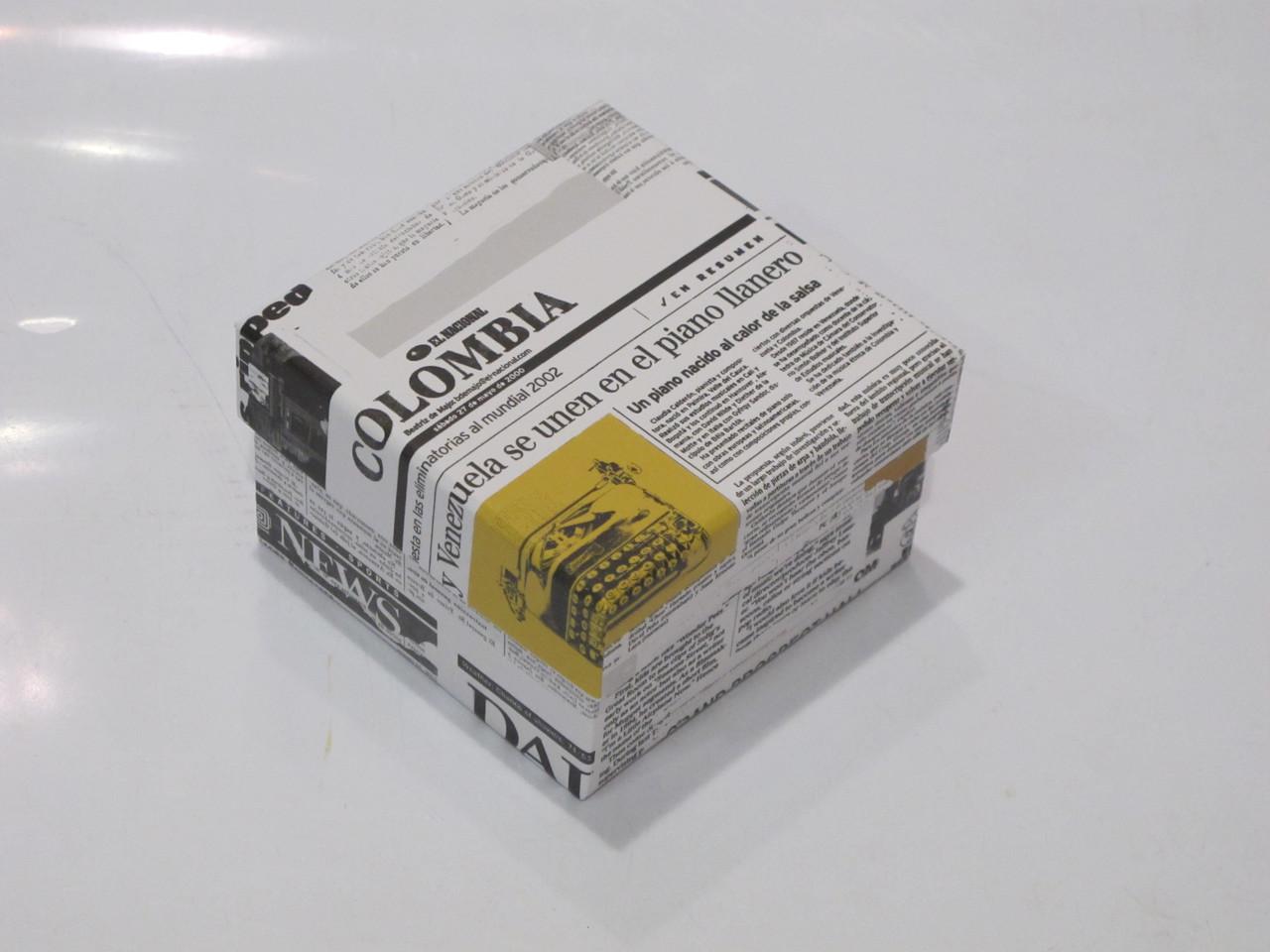 Коробочка праздничная упаковочная (подарочная) Colombia (S)