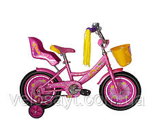 """Детский велосипед """"Girls"""" 18"""" розовый, фото 2"""