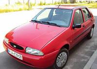 Ветровики боковых окон, дефлекторы на Форд Фиеста 5-ти дверный / FORD Fiesta 5d 1996-2000 год