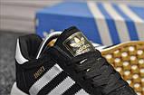 Стильні кросівки Adidas Iniki Black/white (Адідас Иники чорно-білі), фото 4