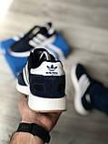 Стильні кросівки Adidas Iniki Black/white (Адідас Иники чорно-білі), фото 7