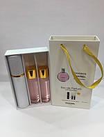 Подарочный набор парфюмерии Chanel Chance Eau Tendre с феромонами