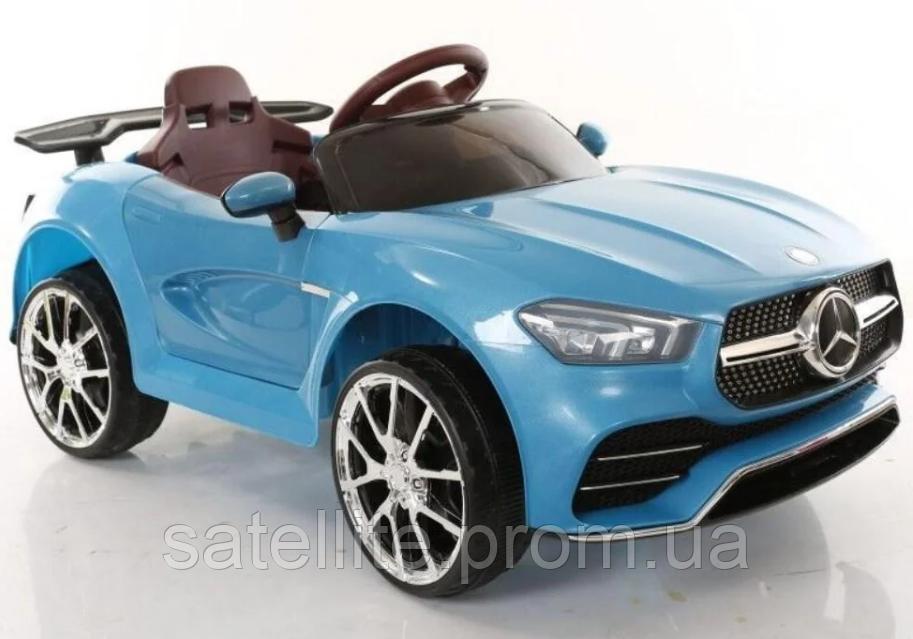 Детский электромобиль Mercedes T-7650 EVA Blue/синий