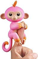 Двухцветная Интерактивная обезьянка Саммер - Fingerlings 2Tone Monkey - Summer WowWee, оригинал