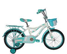 """Дитячий велосипед Crosser Kiddy 16"""" рожевий, фото 3"""