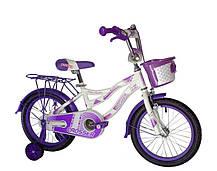 """Детский велосипед Crosser Kiddy 16"""" розовый, фото 3"""