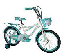 """Дитячий велосипед Crosser Kiddy 16"""" рожевий, фото 2"""