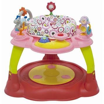 Игровой центр CARRELLO Развивающий столик для девочки от 6 мес Прыгунки для ребенка