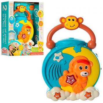 Детский проектор на кроватку Мишка Музыкальные игрушки для самых маленьких