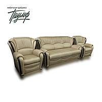 КОМПЛЕКТ (диван + 2 кресла) ЛЕОН 1,6. VINCENT