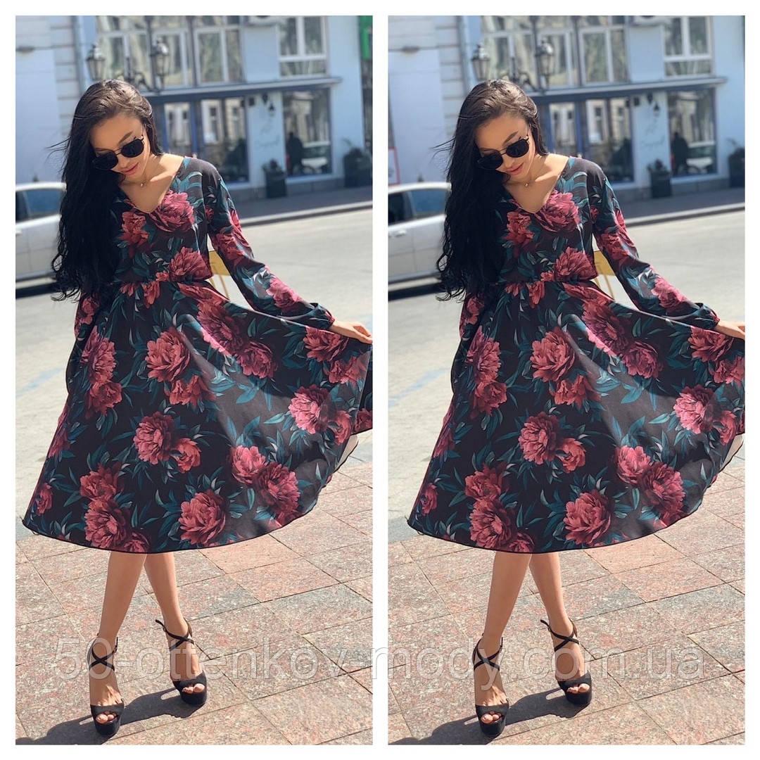 Красивое платье удлинонное с узором, очень мягкое,шелковое платье