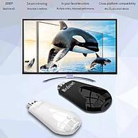 Бездротове підключення телефону до телевізора з Wi-Fi MiraScreen 4K