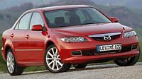 Ветровики боковых окон, дефлекторы на Мазда 6 лифтбек и седан / Mazda 6 4d 2002-2005 год