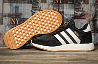 Кроссовки женские 16871, Adidas Iniki, черные, < 36 38 39 41 > р. 36-22,2см.