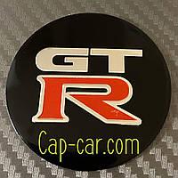 Наклейки для дисків з емблемою Nissan GTR. ( Ніссан ) Ціна вказана за комплект з 4-х штук
