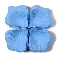 Лепестки роз 1000 шт, голубой цвет, арт. SRP-021