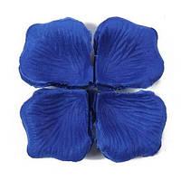 Лепестки роз 1000 шт, синий цвет, арт. SRP-025